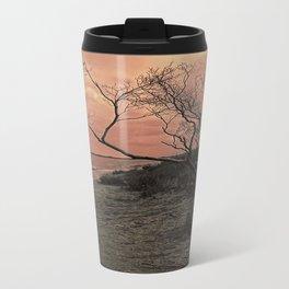 Diffused Beach Tree Travel Mug