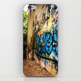 A -not so- clear path iPhone Skin