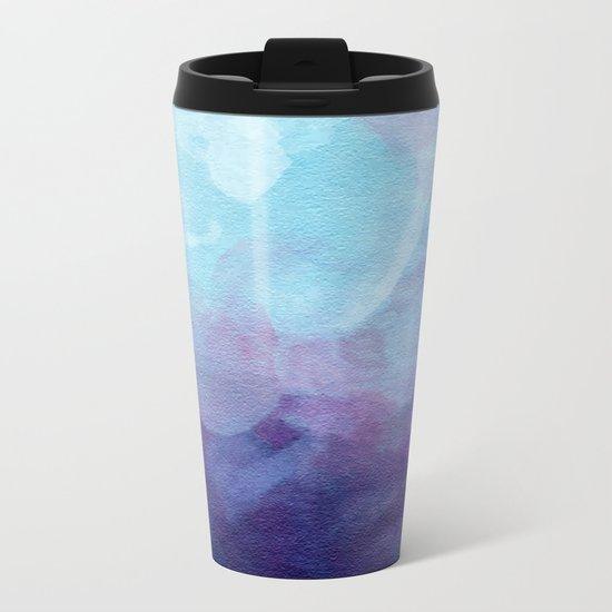 Aquarelle Metal Travel Mug