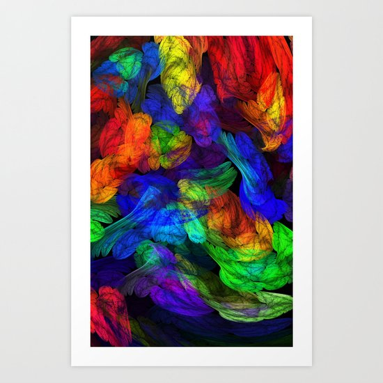 The Magic of Color Art Print