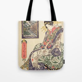 Geisha women Tote Bag
