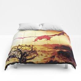 dragon attack Comforters