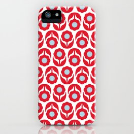 Joy collection - Red flowers iPhone Case