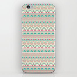 Ethnic , ornament , tribal , pastel iPhone Skin