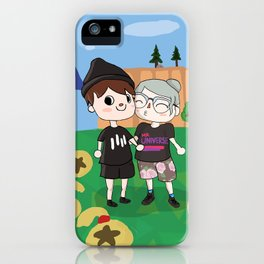 Celebratory Smooch iPhone Case