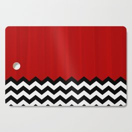 Twin Peaks - The Red Room Cutting Board