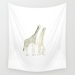 looking for new perspectives Wall Tapestry