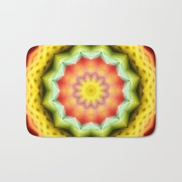 Prismatic Eye Mandala Bath Mat