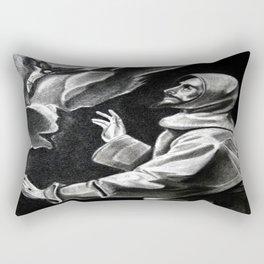 St. Francis of Assisi Rectangular Pillow