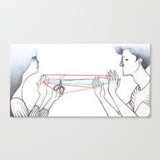 String Games Canvas Print