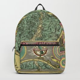 Vintage Astronomy Chart 1772 Backpack