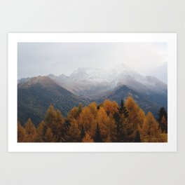 Autumn Air Art Print
