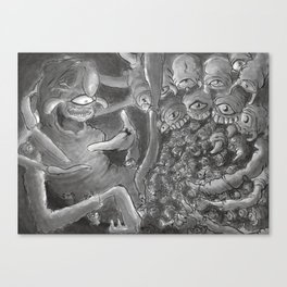 Spiderbro Canvas Print
