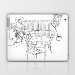 Childhood backyard Laptop & iPad Skin