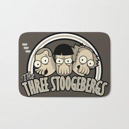 The Three Stoogebergs Bath Mat