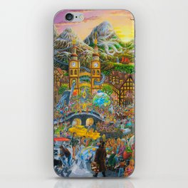 Magical Mystery Tour Color Edit iPhone Skin