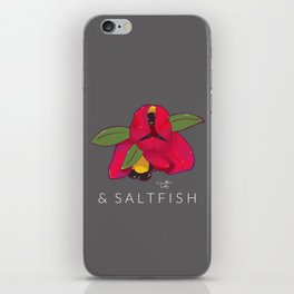 Ackee & Saltfish iPhone Skin