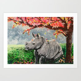 Contemplation Art Print