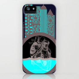 Heart of the City iPhone Case