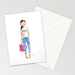 Bien Watercolor Stationery Cards