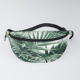 Tropical Palm Leaf Jungle #1 #tropical #decor #art #society6 Fanny Pack