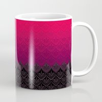 rothko Mugs featuring ELENA PATTERN - FLAMENCO VERSION by TotalBabyCakes