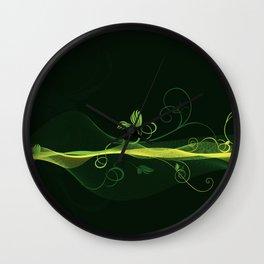 Glowing Vines Wall Clock
