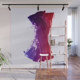 Color Smear Dance Wall Mural