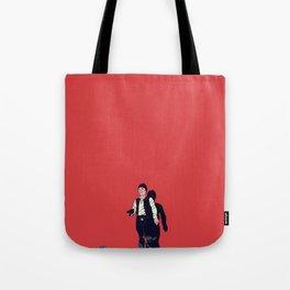 Over my dead body Tote Bag