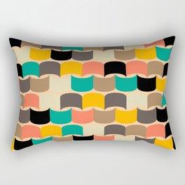 Retro abstract pattern Rectangular Pillow