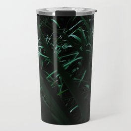 Grass blades basking in the sun - Abstract Travel Mug