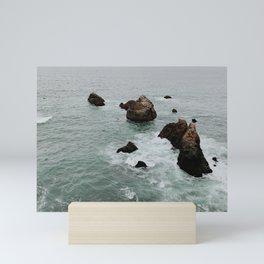 Mori Point, The Sea Cliff Mini Art Print