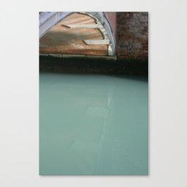 Venice Bridge Reflection Canvas Print