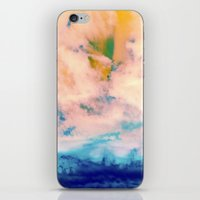 outer space iPhone & iPod Skins featuring OUTER SPACE by u t a