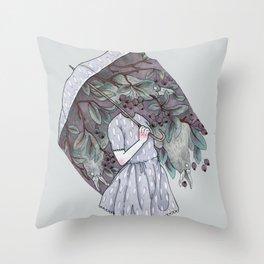 Black Cloud Throw Pillow
