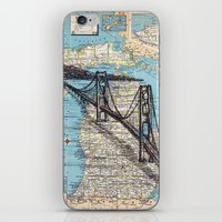 michigan iPhone & iPod Skins featuring Michigan by Ursula Rodgers