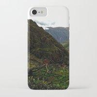 peru iPhone & iPod Cases featuring Rural Peru by miranda stein