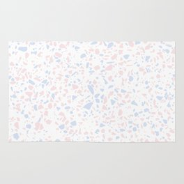 'Speckle Party' Lilac + Pink Dots Speckle Terrazzo Pattern Rug