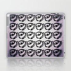 Rows of Flowers, Purple Laptop & iPad Skin