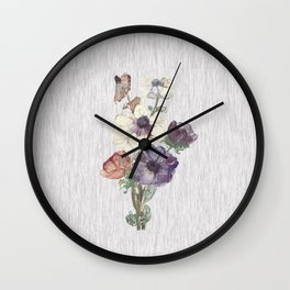 Revision of Anemones Wall Clock