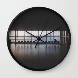There Once Was A Man Of Solitude Wall Clock