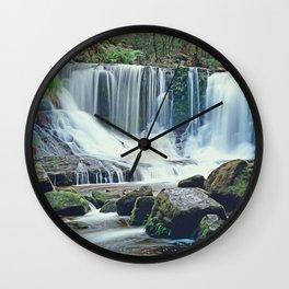 Horseshoe falls Tasmania Wall Clock