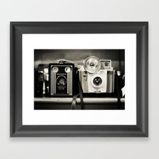 A pair of Kodak Brownies Framed Art Print
