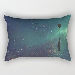 Forever-Rising Balloon Rectangular Pillow