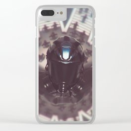 Depression (everyday 24.04.2018) Clear iPhone Case