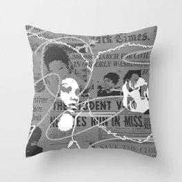 AfroNation Throw Pillow