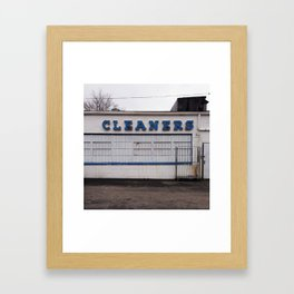 Cleaners Framed Art Print