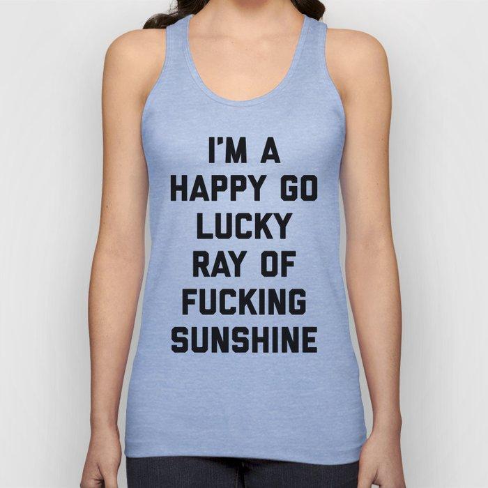 Ray Of Fucking Sunshine Funny Quote Unisex Tanktop