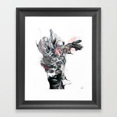 Recept Framed Art Print