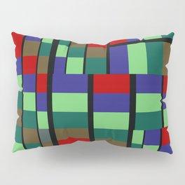 Mid-Century Modern Abstract Pattern #1 Rectilinear Pillow Sham